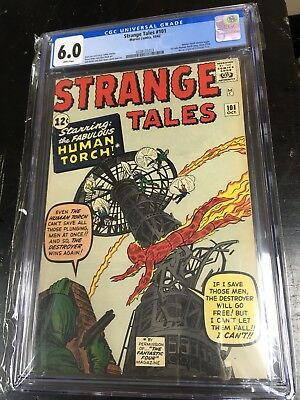 Strangel Tales 101 CGC 6.0 White Pages Looks Nicer