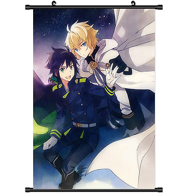 Anime Seraph of the end Owari no Seraph Wall Poster Scroll Home Decor 2671