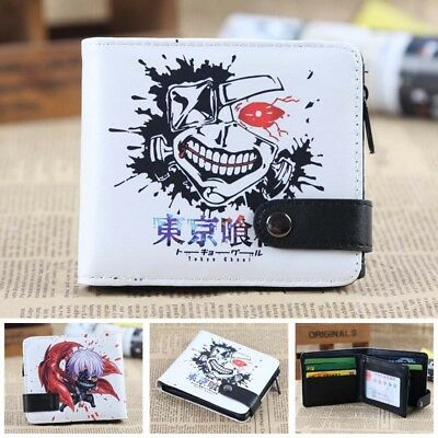 HOt Anime Tokyo Ghoul Cosplay PU Leather Purse Wallet