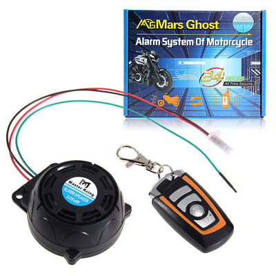 12V New Anti-theft Security Motorcycle Alarm System Burglar Alarm Remote Control
