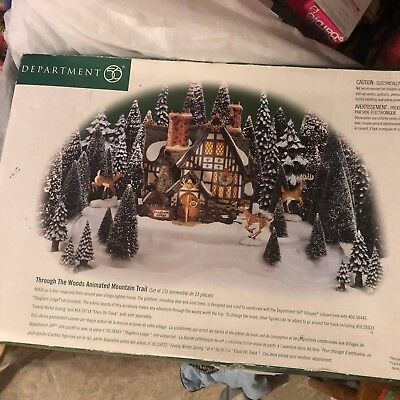 Dept 56 Through The Woods 52791 moving deer