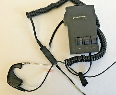 Plantronics Vista M12 Universal Telephone headset & amplifier base