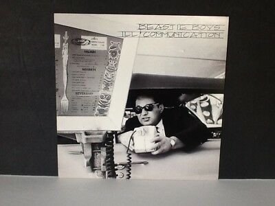 "Beastie Boys Double Sided Record Store Promo Flat Poster 12"" X 12"""