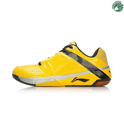 Original Li-ning Badminton Shoes AYTL019 Yellow Size 11
