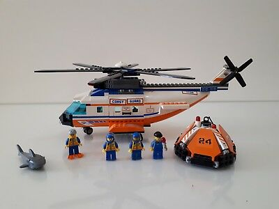 Lego 7738 City Coast Guard Helicopter Life Raft 8010 Picclick