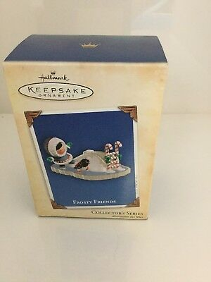 2004 Hallmark Keepsake Ornament FROSTY FRIENDS Collectors Series#25
