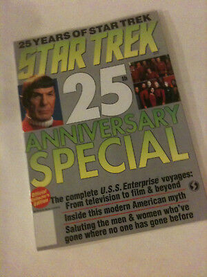 'STAR TREK 25th ANNIVERSARY SPECIAL' 1992 Official Collector's Magazine