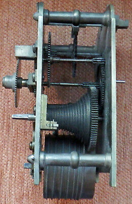 Heavy Brass In-Complete Vintage Clock Movement