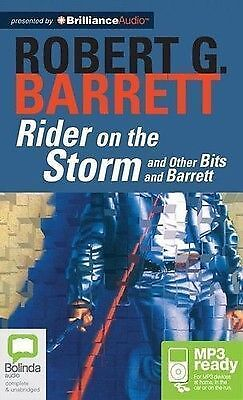 Robert G. BARRETT / RIDER on the STORM: and Other Bits       [ Audiobook ]