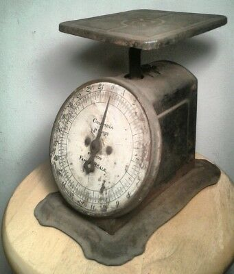 Antique 1906 JANNEY SEMPLE HILL & CO. family Scale (Still Works)