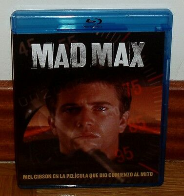 Mad Max Blu-Ray Neuf Action Aventures Science Fiction Mel Gibson R2