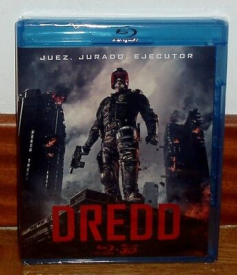 Dredd Blu-Ray 3D+Blu-Ray New Sealed Action Science Fiction (Unopened) R2
