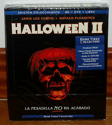 Halloween Ii Edition Digipack Collector Blu-Ray+Dvd+Libro Neuf (Sans Ouvrir)