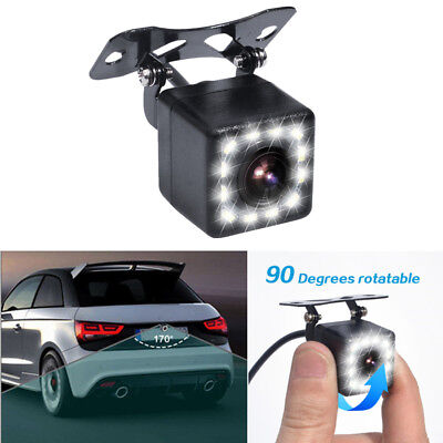 Adjustable HD Car LED Parking Camera Reverse Rear View Back up Cam Universal 1x