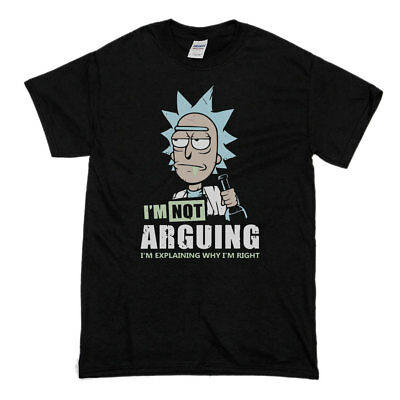 Rick And Morty Im Not Arguing Always Right Mashup Parody Funny TV Show New