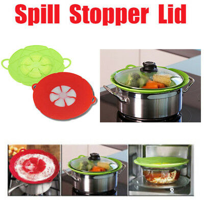 Flower Bloom Silicone lid Spill Stopper Silicone Lid Cover For Pan Cooking Tool