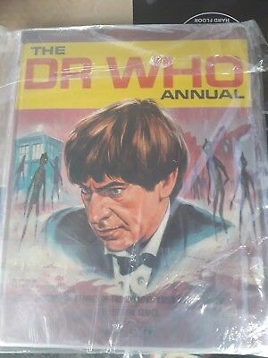 Doctor Who Annual 1968 1st Patrick Troughton Very rare annual