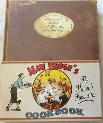 Maw Broon's Cookbook , In Excellent Condition, Made To Look Used.