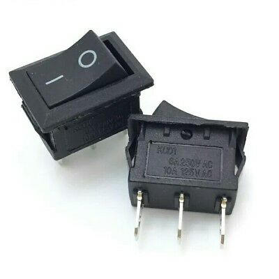 On/Off Rocker Switch 3Pin 2Way Large Rectangle 21x15mm 3A DIY Project Electrical