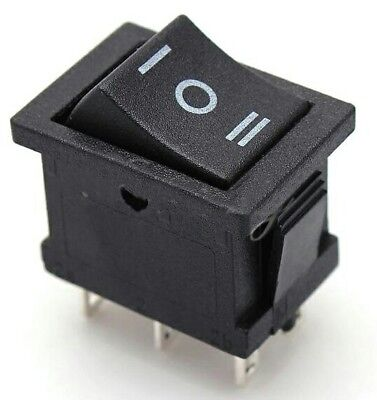 On/Off Rocker Switch 6Pin 3Way Large Rectangle 21x15mm 3A DIY Electrical Project