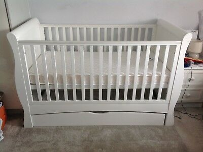Cot bed, Trundle Drawer, And Mattress