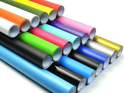 Matt Vinyl Wrap Sheet Roll Film Sticker (Air/Bubble Free) All Colours All Sizes