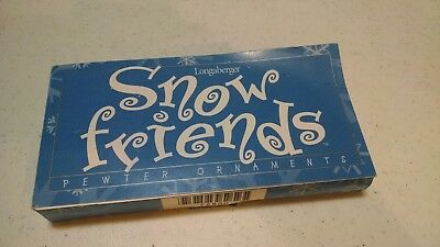 longaberger snow friends never taken out of box