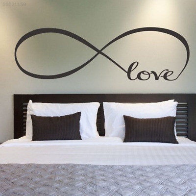 302D Black LOVE Removable Bird Wall Stickers Creative PVC Decal Mural Art DIY*