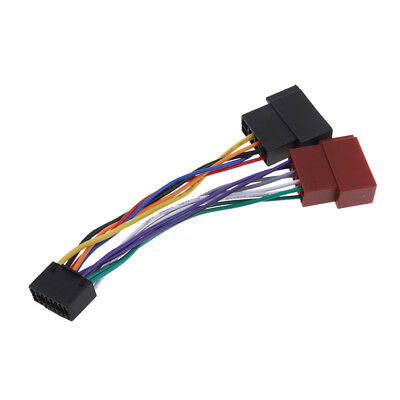 KENWOOD CAR RADIO 16-Pin Wiring Harness Adaptor Loom - $7.99 ... on jvc wiring harness diagram, 7-way trailer wiring adapter, jvc kd r210 wiring-diagram, jvc headunit wiring-diagram, jvc steering wheel adapter, jvc kd r300 wiring harness, jvc kd s26 wiring harness, jvc wiring harness color coating,