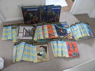 1960s KNOWLEDGE MAGAZINES 150 IN GOOD ORDER