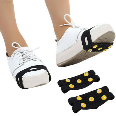7EFA Anti Slip Snow Shoe Ice Grippers For Shoes Boots Safety Soles Overshoe Grip