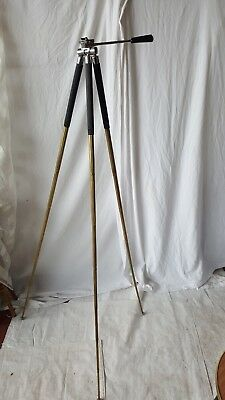 "Vintage Brass Telescopic Tripod 10""-51"" FREE UK P&P !!"