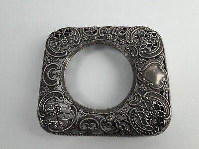 Antique Silver frame. With hallmarks