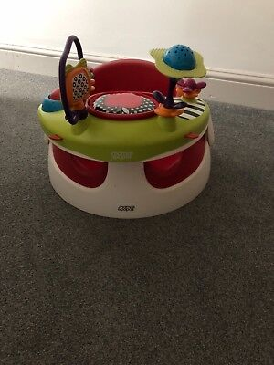 mamas and papas snug seat with removable activity tray