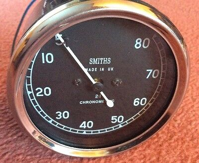Smiths Replica Chronometric  Mechanical Revcounter Anti Clockwise BSA  2:1 Ratio