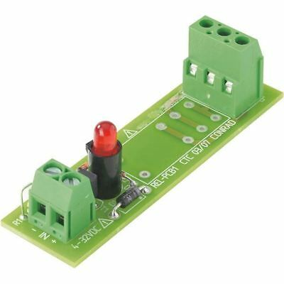 White Label 503308 12VDC SPDT-CO Relay Board with Omron G2R-1-E-12V PCB Relay