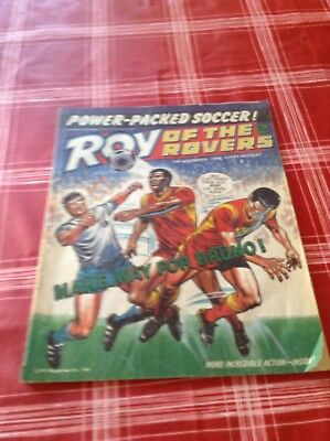 Roy of the Rovers 1986
