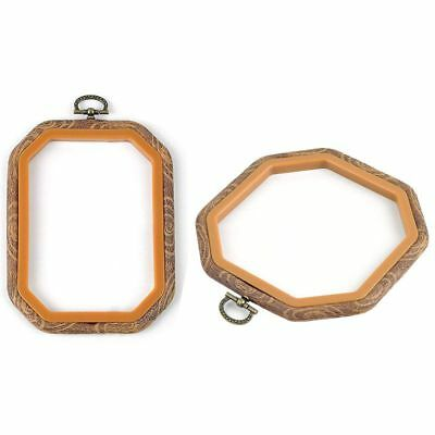 Embroidery Hoops Cross Stitch Hoop Embroidery Circle Set for Art Craft Handy  W4