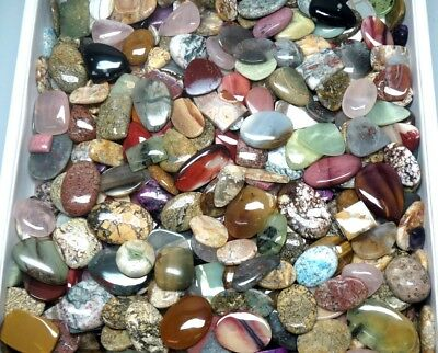 900Cts. Top Quality Mix Wholesale Lot Natural Mix Gemstone Cabochon 2945