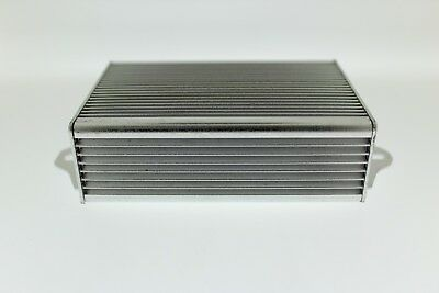 Aluminium Project Box Electronic Enclosure Silver Component Case Wall Mountable
