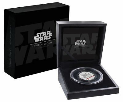 2017 Niue Star Wars Darth Vader 2 oz Silver Ultra High Relief Proof Coin