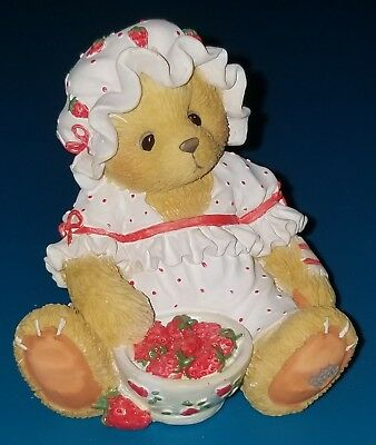 NEW Cherished Teddies - Tara - 156310 - You're My Berry Best Friend - Strawberry