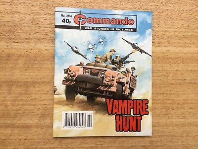 Commando War Stories Comic No 2552 Vampire Hunt