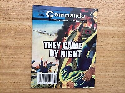 Commando War Stories Comic No 2563 They Came By Night