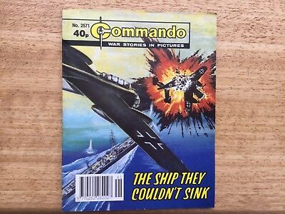Commando War Stories Comic No 2571 The Ship They Couldn't Sink