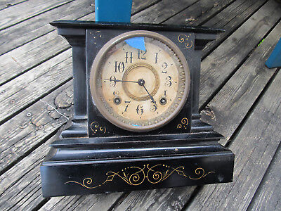 Ansonia Clock Company Antique Patented June 1882 Made in the USA For parts AS IS