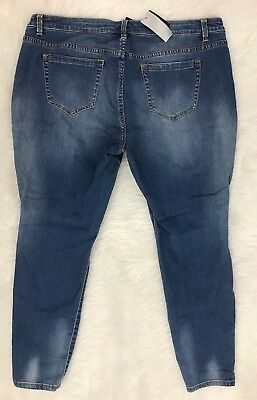 LANE BRYANT Jeans Womens 20 Skinny Fit Low Rise Stretch NEW with Tags