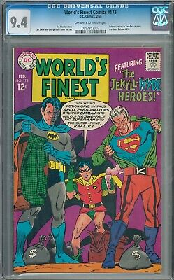 Worlds Finest Comics #173 CGC 9.4 Two-Face Batman Robin