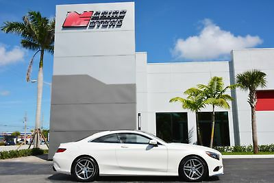 S-Class S 550 4MATIC 2016 S550 4-MATIC COUPE - ONLY 4,800 MILES - RARE MATTE WHITE -1 OWNER