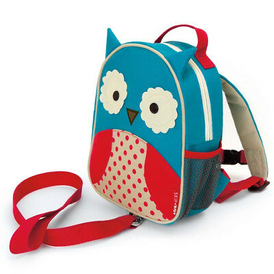 NEW Skip Hop Zoo-Let Mini Backpack With Safety Rein - Owl